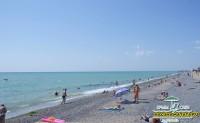 Пляж и море на Базе отдыха Уют